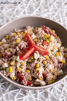 Thunfischsalat Mit Mais - einfacher thunfischsalat mit mais und feta rezept