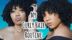 hair my curly hair routine youtube