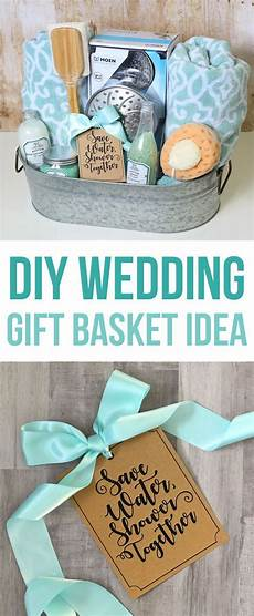 shower themed diy wedding gift basket idea wedding gifts diy wedding gifts wedding gift