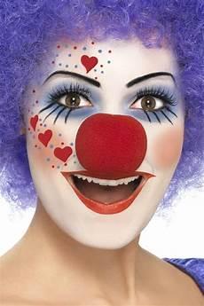 kinder clown schminken fasching make up im letzten moment clown schminken