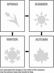 seasons worksheet for kindergarten 14884 kidzone cut and paste worksheets