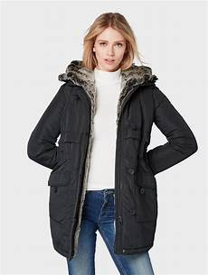 tom tailor denim parka 187 gef 252 tterte winterjacke 171 otto
