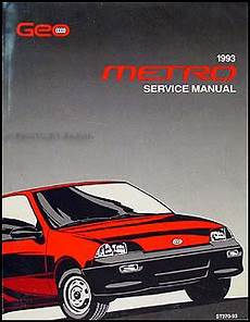 online car repair manuals free 2001 chevrolet metro auto manual 1993 geo metro repair shop manual original