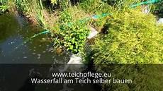 Teich Selber Bauen - wasserfall am teich selber bauen