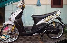 Mio Modif Simple by 250 Modifikasi Motor Matic Terkeren 2019 Honda Yamaha