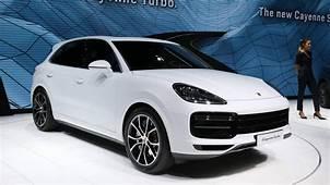 All New Porsche Cayenne Turbo Parks Its 550 Horsepower