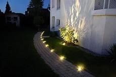 led beleuchtung garten beleuchtung vorgarten