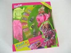 barbie paint n dazzle deluxe play doll 1993 new nrfb ebay