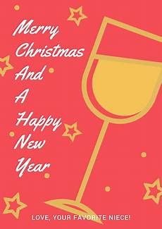 poster maker design christmas and new year poster online for free fotor