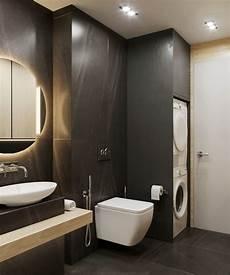 idee rivestimento bagno idee bagno piastrelle di colore nero lavanderia da