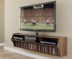 Tv Regal Holz - wood floating brown tv shelves thebestwoodfurniture