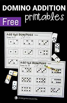 domino subtraction worksheets for kindergarten 10504 domino addition printables the kindergarten connection