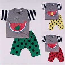 jual baju setelan anak bayi laki cowok paus semangka celana polkadot 1115 di lapak vera beliko