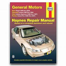 hayes auto repair manual 1995 pontiac grand prix on board diagnostic system haynes repair manual for 1988 2007 pontiac grand prix shop service garage dw ebay