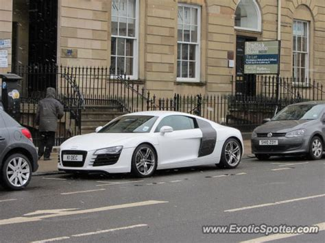 Audi R8 Spotted In Glasgow, United Kingdom On 03/22/2013