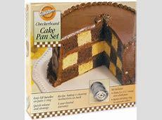 Wilton Checkerboard Cake Pan Set Baking Mold Pastry