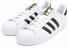 adidas mens superstar leather low top lace white