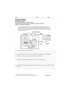 physical science fission fusion worksheet 13093 activity nuclear energy teachervision