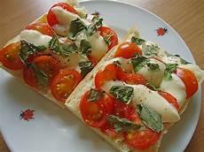 Tomate Mozzarella Toast Rezept Mit Bild Andr0meda