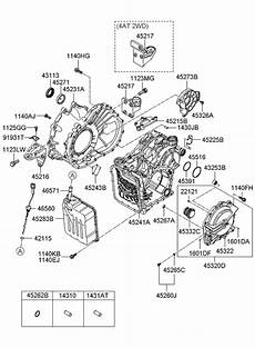 2009 hyundai santa fe transmission diagram wiring schematic 45294 3a010 genuine hyundai ring seal