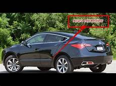 woow 2013 acura zdx review youtube