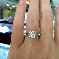 cushion cut engagement rings no halo raymond jewelers