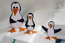 Bastelvorlage Pinguin Papier - pinguin basteln pinguine basteln kribbelbunt