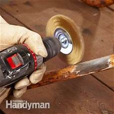 rost entfernen metall how to remove rust from metal the family handyman