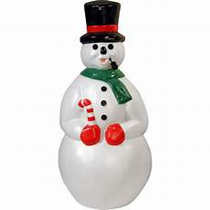 Mold Decorations by 34 Quot Snowman With Pipe Mold Walmart