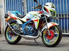 Jok Motor Modifikasi by Modifikasi Jok Motor Jok Kawasaki 150 R Model