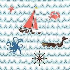 nautical card templates sea patterns card templates on
