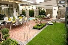Garten Umgestalten Ideen - gartengestaltung terrasse bilder