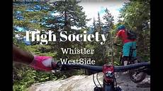 West Side Cycling by High Society Whistler West Side Trails Black Day