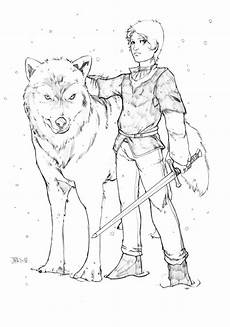 arya stark a of thrones by harpokrates