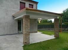 tettoia in muratura porticati