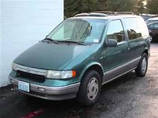 how to learn about cars 1995 mercury villager regenerative braking 1995 mercury villager wagon in bellevue wa youtube