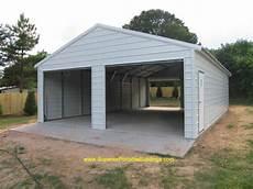 Garage Doors 8 X 10 Price by 24x40x9 Boxed Eave Garage