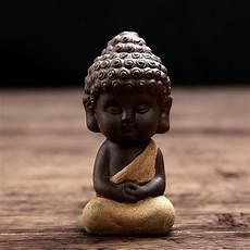 handpainted ceramic buddha figurine project yourself
