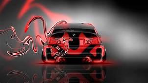 BMW M3 Back Plastic Neon Car 2014  El Tony