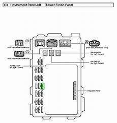 2005 toyota corolla fuse box diagram i blew the fuse for the radio in my 2004 toyata corrolla where do i find it