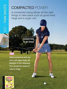 golf swing for beginners a connected takeaway sets the stage for a connected and