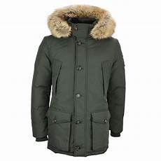 hilfiger winter jacket green hton parka