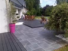 Am 233 Nagement D Une Terrasse Dallage M 233 Lang 233 Avec Composite