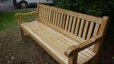 Hardwood Garden Bench Oak The Wooden Workshop