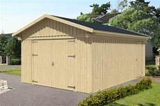 garage aus holz selber bauen garage skanholz 171 falun 187 einzelgarage holzgarage f 252 r 1 auto