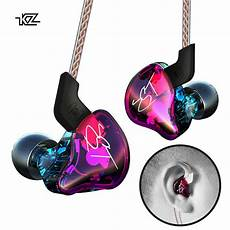 Hybrid Earphone Heavy Bass Headphone With by Original Kz Zst Pro Earphone Hifi Heavy Bass In Ear Hybrid