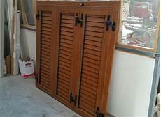 persiane legno usate occasioni rpm falegnameria