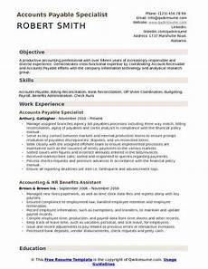 accounts payable specialist resume template ipasphoto