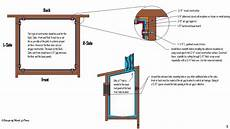 how to build a bluebird house plans usgs bluebird house plans using one board