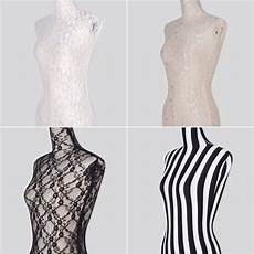 mannequin lace cover stretched top halfbody dress form